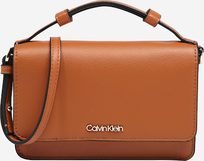 Calvin Klein Tasche in cognac: Frontalansicht