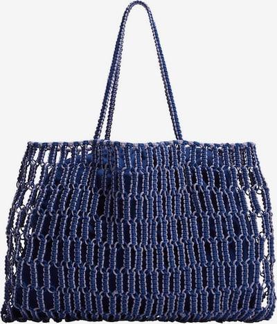 MANGO Shopper 'embolo' - modrá, Produkt