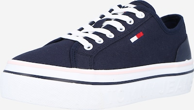 Sneaker low Tommy Jeans pe albastru închis / roșu / alb, Vizualizare produs