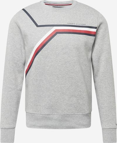 TOMMY HILFIGER Sweatshirt in de kleur Navy / Grijs gemêleerd / Rood / Wit, Productweergave