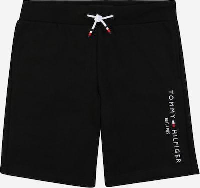 TOMMY HILFIGER Kalhoty 'ESSENTIAL' - červená / černá / bílá, Produkt