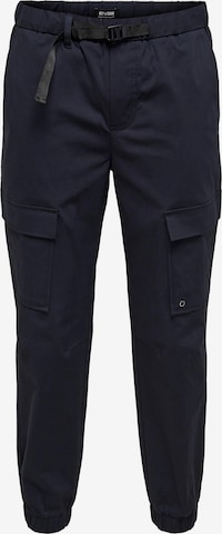 Only & Sons Cargo trousers 'Kane' in Blue