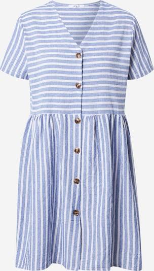 Hailys Robe-chemise en bleu / blanc, Vue avec produit