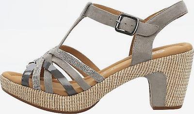 GABOR Sandale in silber, Produktansicht