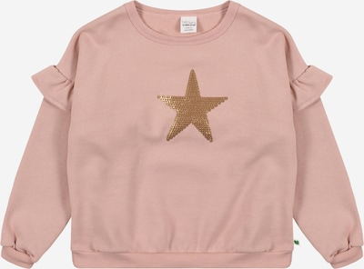 Fred's World by GREEN COTTON Sweatshirt 'Star' in gold / altrosa, Produktansicht
