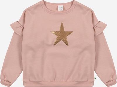 Fred's World by GREEN COTTON Sweatshirt 'Star' in de kleur Goud / Oudroze, Productweergave