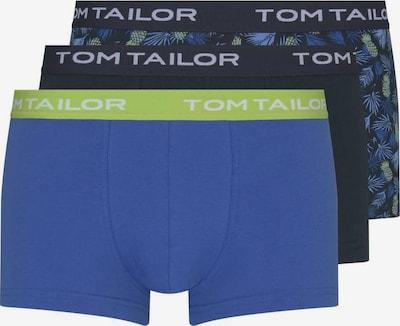 TOM TAILOR Boksarice | temno modra / limeta / črna barva, Prikaz izdelka
