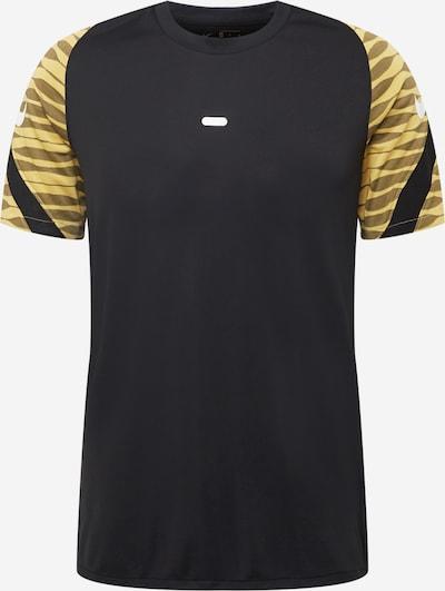 NIKE Functioneel shirt in de kleur Mosterd / Lichtgeel / Zwart, Productweergave