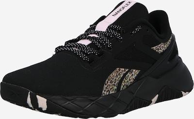Reebok Sport Running Shoes 'Nanoflex' in Beige / Brown / Grey / Black, Item view