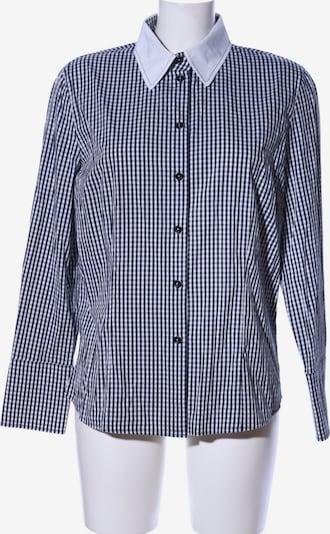 Hauber Langarmhemd in L in schwarz / weiß, Produktansicht