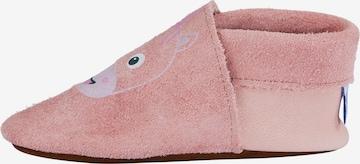 Affenzahn Krabbelschuh 'Einhorn' in Pink