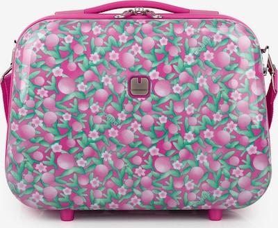 Gabol Beautycase 'Cherry' in hellgrün / pink / rosa, Produktansicht