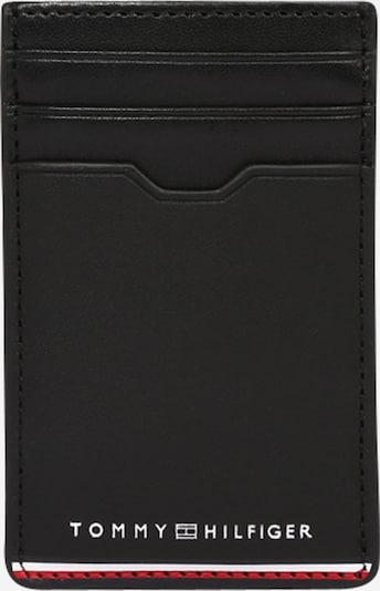 TOMMY HILFIGER Geldbörse in rot / schwarz / weiß, Produktansicht