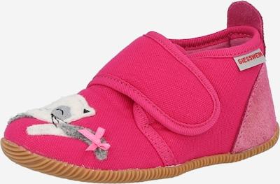 GIESSWEIN Hausschuh 'Schortens' in grau / rosa / himbeer / weiß, Produktansicht