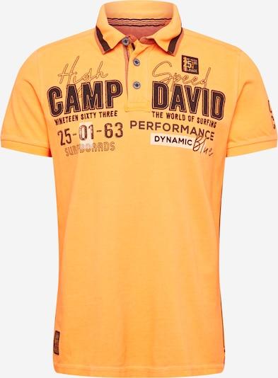 CAMP DAVID T-Shirt en orange clair, Vue avec produit