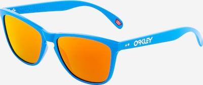 OAKLEY Sportbril 'FROGSKINS' in de kleur Lichtblauw / Donkeroranje, Productweergave