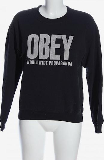 Obey Sweatshirt in S in schwarz / weiß, Produktansicht
