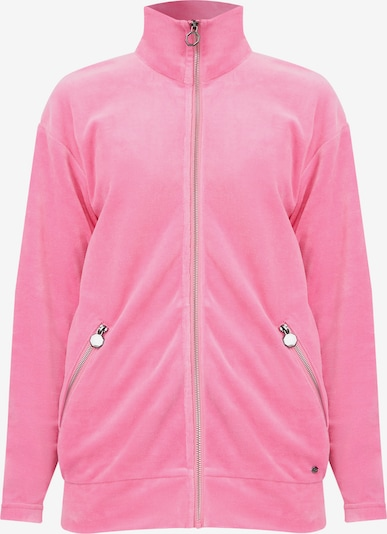 Finn Flare Sweatshirt-Jacke in pink, Produktansicht