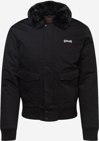 Schott NYC Jacke 'TOP GUN' in schwarz, Produktansicht