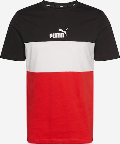 PUMA Toiminnallinen paita värissä punainen / musta / valkoinen, Tuotenäkymä