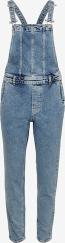 ONLY Tuinbroek jeans 'Percy' in Blauw