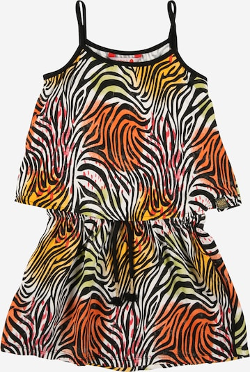 Boboli Dress in Yellow / Orange / Black / White, Item view