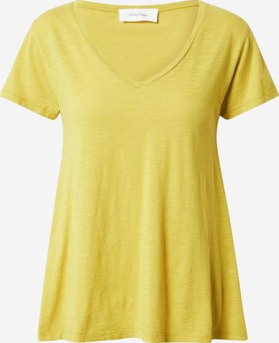 AMERICAN VINTAGE T-shirt 'Jacksonville' en citron, Vue avec produit
