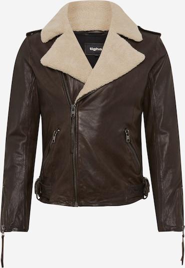 Giacca di mezza stagione 'Berend' tigha di colore marrone / bianco lana, Visualizzazione prodotti