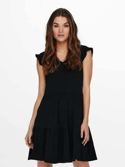 Rochie 'MAY' ONLY pe negru, Vizualizare model