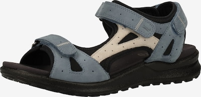 Legero Hiking Sandals 'Siris' in Beige / Dusty blue / Black, Item view