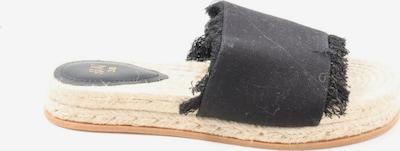 H&M Strandsandalen in 38 in schwarz, Produktansicht