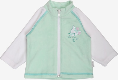 Stummer Übergangsjacke in grün / pink / weiß, Produktansicht