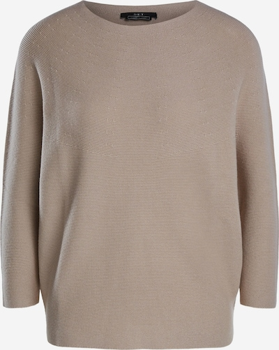 SET Pullover aus Baumwolle in taupe, Produktansicht