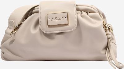 Geantă de umăr REPLAY pe alb perlă, Vizualizare produs