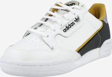 balts ADIDAS ORIGINALS Brīvā laika apavi 'Continental 80'