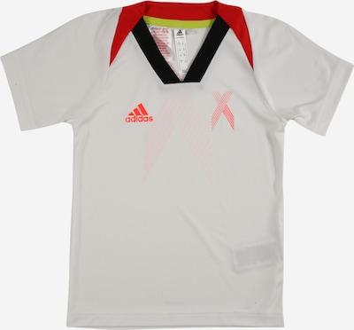 ADIDAS PERFORMANCE Funktionsshirt en rot / schwarz / weiß, Vue avec produit