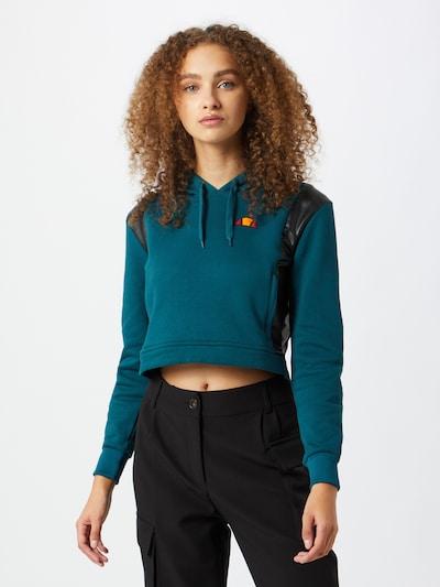 ELLESSE Sweatshirt 'Fioci' in de kleur Donkerblauw / Zwart: Vooraanzicht