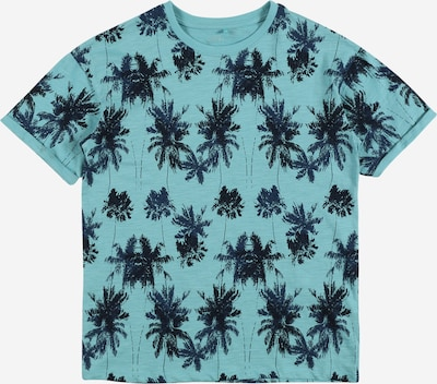 NAME IT T-Shirt 'Valther' in marine / aqua, Produktansicht