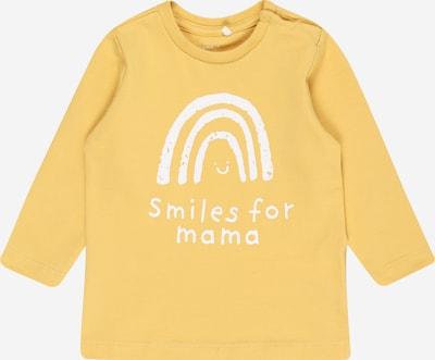 NAME IT Koszulka 'Daniella' w kolorze szafranowy / białym, Podgląd produktu