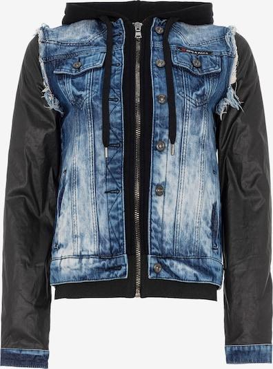 CIPO & BAXX Jeansjacke in blau, Produktansicht