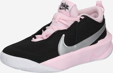 NIKE Athletic Shoes 'Team Hustle D 10' in Black