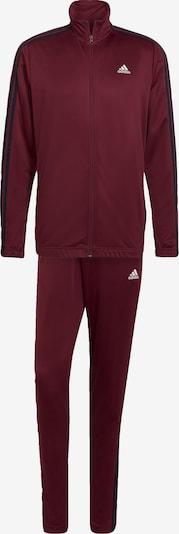 Completo sportivo ADIDAS PERFORMANCE di colore rosso vino / nero / bianco, Visualizzazione prodotti