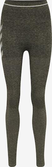Hummel Sportbroek in de kleur Donkergroen, Productweergave