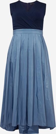 SWING Abendkleid en hellblau / dunkelblau, Vue avec produit