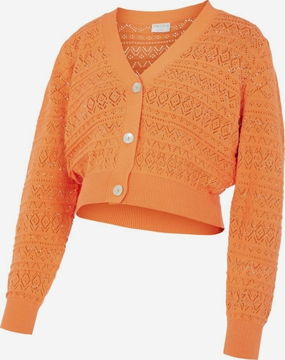 MAMALICIOUS Strickjacke in orange, Produktansicht