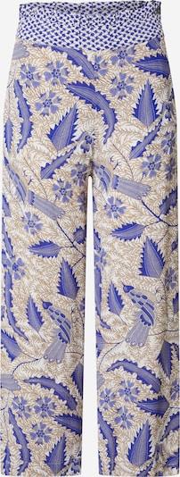 Cecilie Copenhagen Bukser 'Francecsa' i beige / blå / lysebrun, Produktvisning