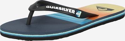 QUIKSILVER Žabky 'MOLOKAI' - vodová / čierna / biela, Produkt