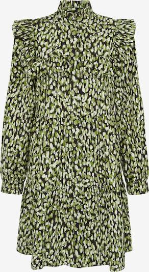 Aligne Kleid 'Debbie' in khaki / apfel / schwarz / weiß, Produktansicht