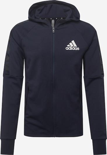 ADIDAS PERFORMANCE Sportiska tipa jaka, krāsa - naktszils / balts, Preces skats