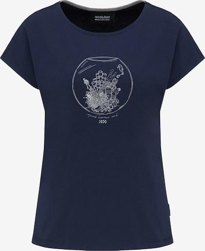 recolution T-Shirt in blau / weiß, Produktansicht